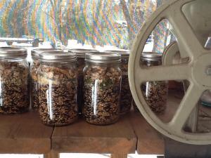Soup Mixes next to grain mill